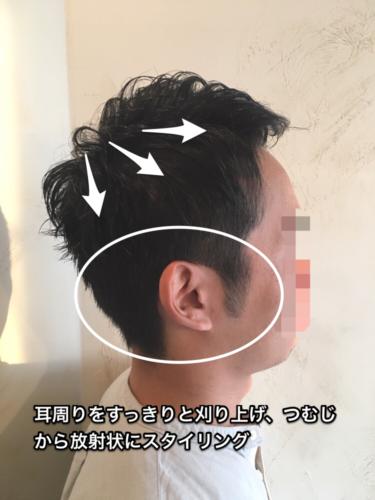 5歳若く見せるメンズ髪型のスタイリング方法