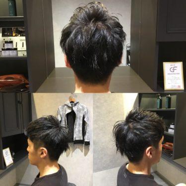 メンズに人気の髪型は刈上げとツーブロックのすっきりショートヘア☆