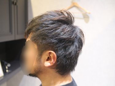 髪型で男性の印象は変わります。清潔感を出すためのヘアカット。